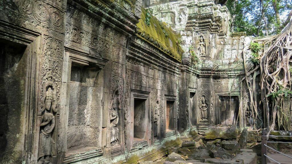 Giungla e rovine di Angkor
