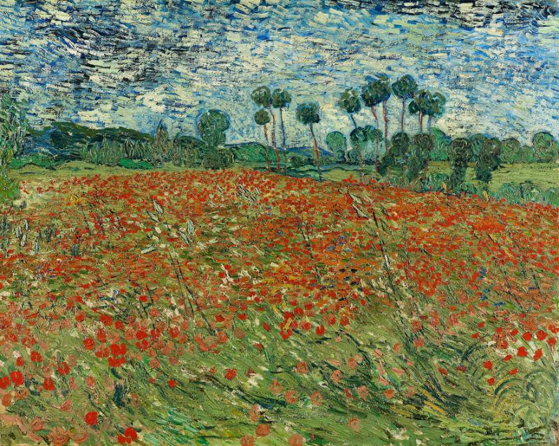 Campo di papaveri - Van Gogh