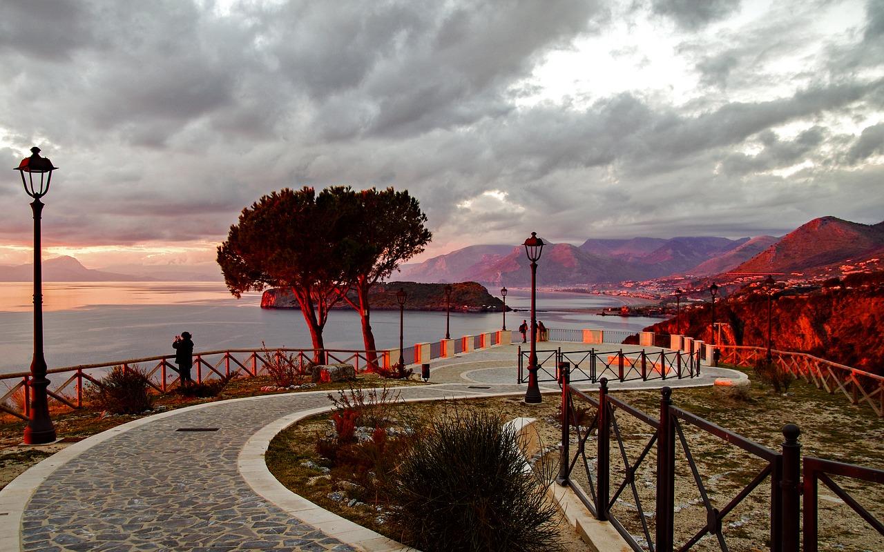 Calabria in inverno