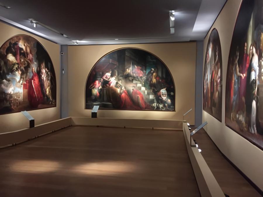 Sala lunettoni Palazzo Chiericati Vicenza