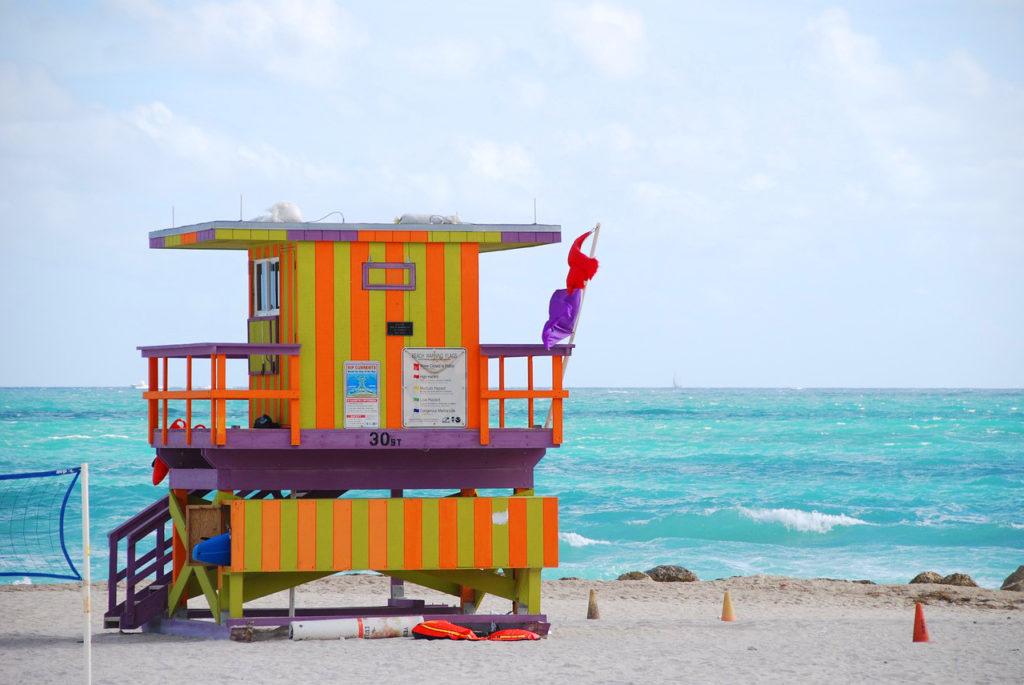 Miami Beach spiaggia