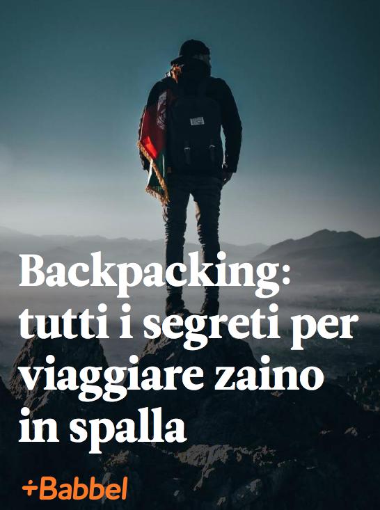 I segreti del packpacking