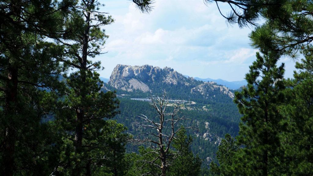 Veduta su Mount Rushmore