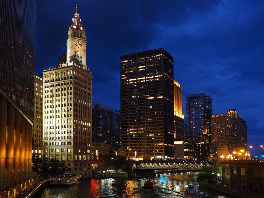 Chicago di notte